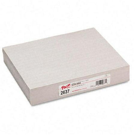 Pacon 2637 Lign- Papier de pratique de papier journal avec Skip Space 3e ann-e blanche 500 feuilles / rame - image 1 de 1