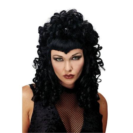 Spider Queen Wig Adult Halloween - Halloween Queen Hair