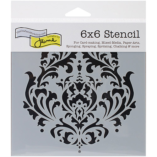 "Crafter's Workshop Template 6""X6""-Brocade"