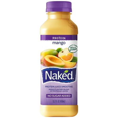 Naked Juice, Mango Protein Zone, 15.2 oz - DailyNutriFood