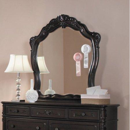 Alcott Hill Baptist Crowned Top Dresser Mirror