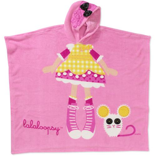 Lala Loopsy - Girls' Hooded Poncho Blank