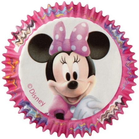 Wilton Disney Mickey Mouse Minnie Cupcake Liners, 50 Ct
