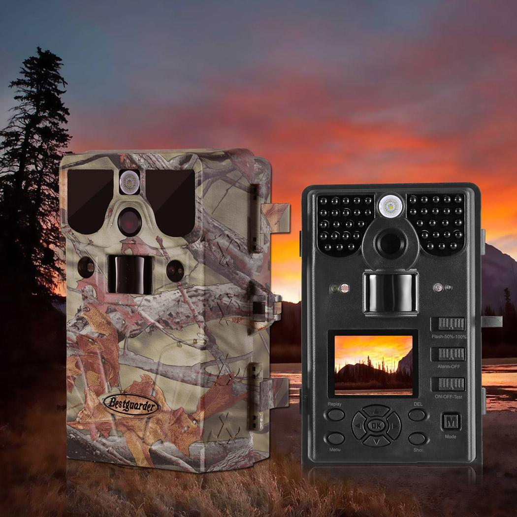 Black Friday Clearance!12MP HD Game Trail Hunting Camera Infrared Scouting Camera IR LEDs and Waterproof IP66 TEAKT