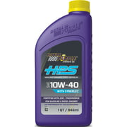 Royal Purple HPS Synthetic SAE 10W-40 High Performance Motor Oil with Synerlec, 1 Quart
