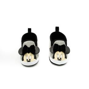 Abg - Grey/Black Minnie Tw Baby Shoes, Black