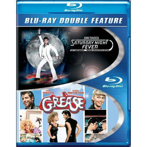 Saturday Night Fever / Grease (Blu-ray)