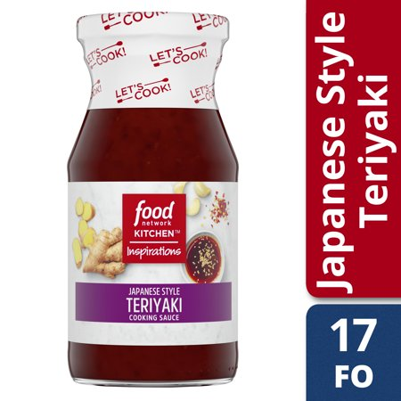 (2 Pack) Food Network Kitchen Inspirations Japanese Style Teriyaki Cooking Sauce, 15 oz Bottle - Food Network Halloween Cocktails