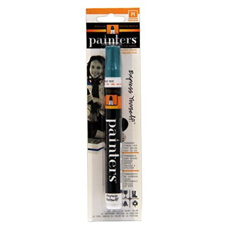 ELMERS CORPORATION W7380 PAINTERS MARKER TURQUOISE MEDIUM CARDED