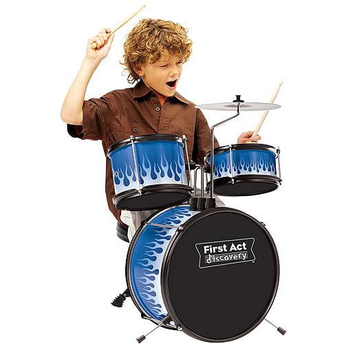 First Act Drum Set Walmart Com