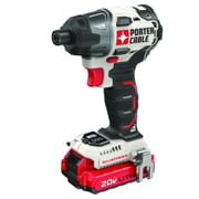 Best Cordless Impact Drivers - PORTER CABLE 20-Volt Max Lithium-Ion 1/4-Inch Brushless Impact Review
