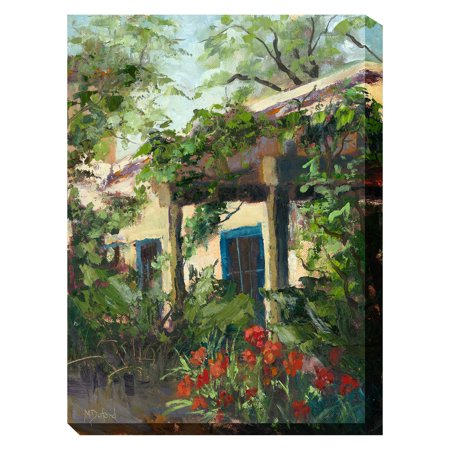 West Of The Wind Adobe Arbor Outdoor Wall Art