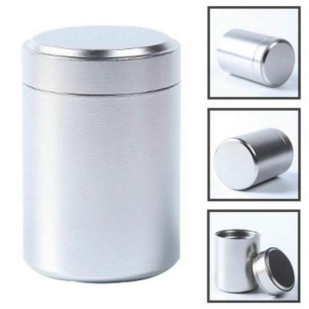 AkoaDa Smell Proof Container Aluminum Herb Stash Jar Metal Sealed Can Tea Jar