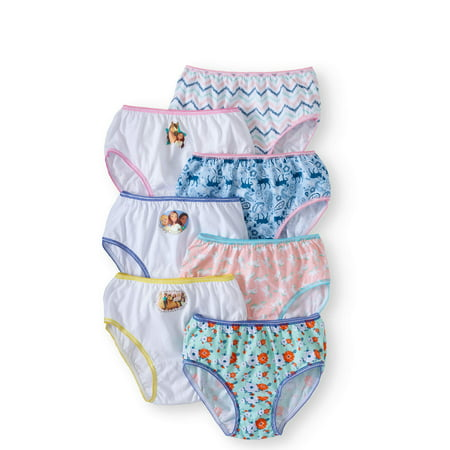 Girls Spirit Riding Free 7pk Bikini Briefs - 4