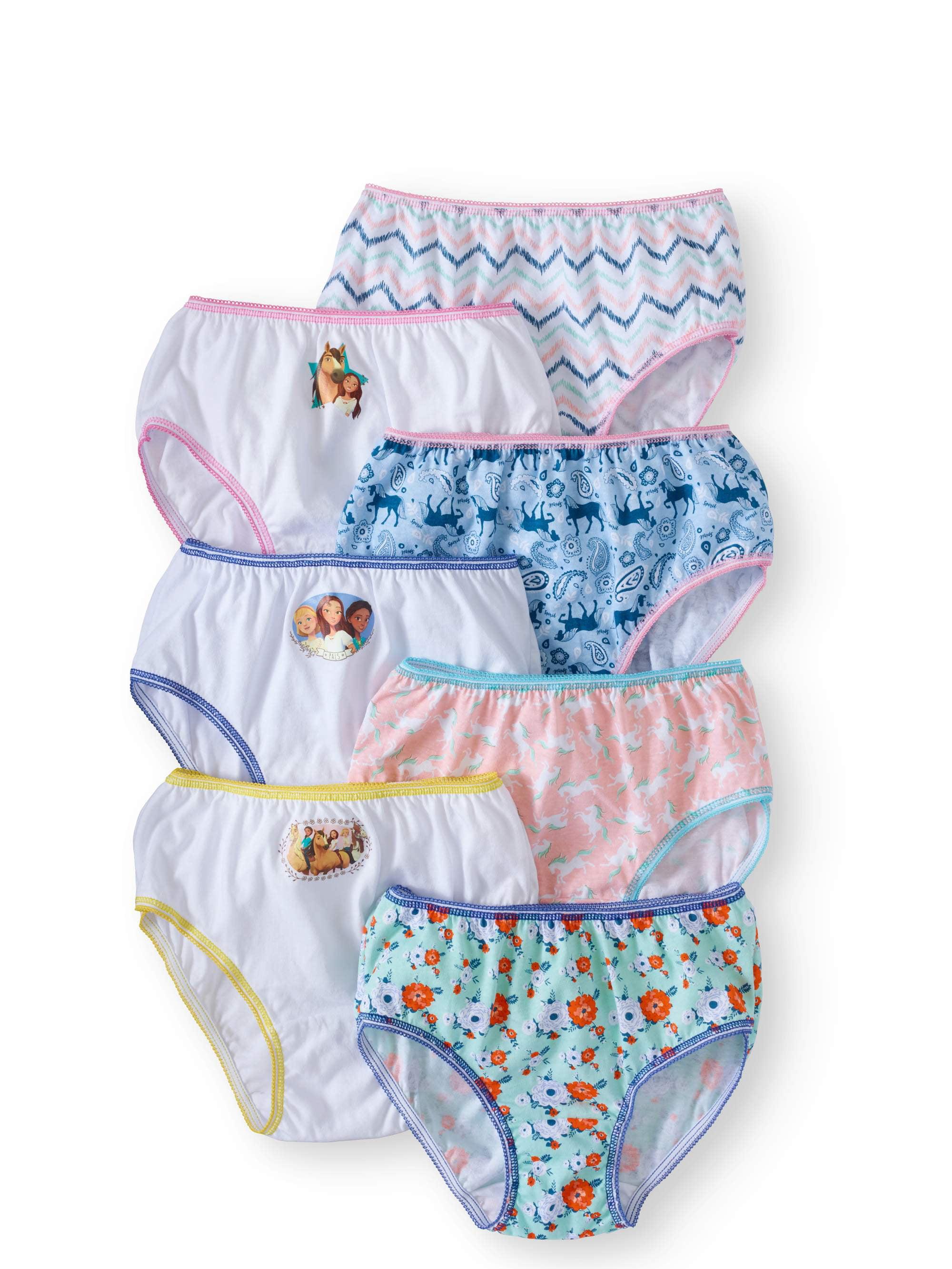 Spirit Riding Free Girls Underwear, 7 Pack