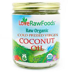 Love Raw Foods Coconut Oil Cold Pressed Virgin Raw 16