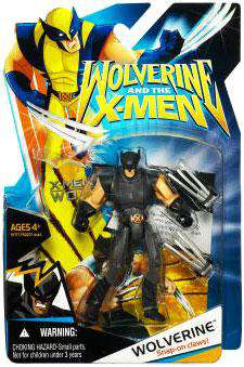 Wolverine and the X-Men Wolverine Action Figure [Black X-Factor Costume] by