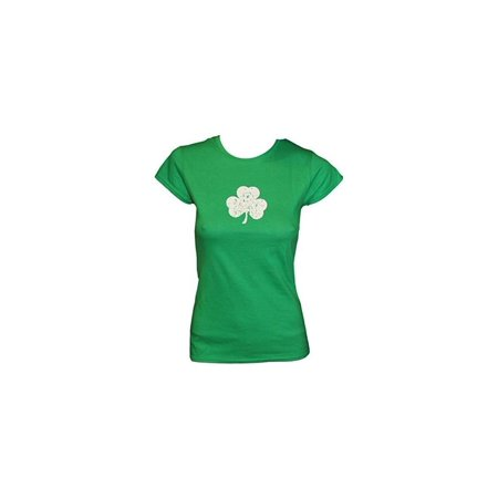 Shamrock Ladies Tee Distressed T-Shirt