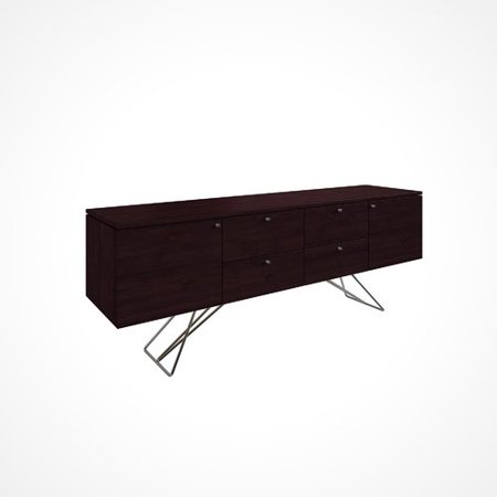 Union Rustic Imani Solid Wood Buffet Table Walmart Com