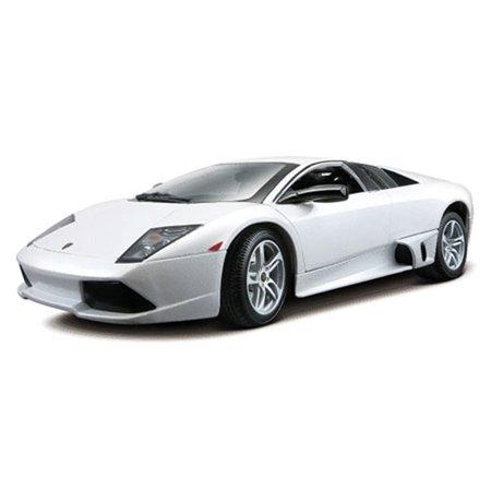 Lamborghini Murcielago LP640, White - Maisto Special Edition 31148 - 1/18 Scale Diecast Model Toy Car Maisto Toy Cars