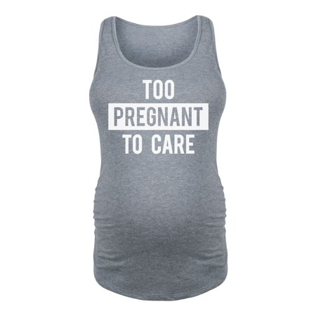 Too Pregnant To Care-Maternity