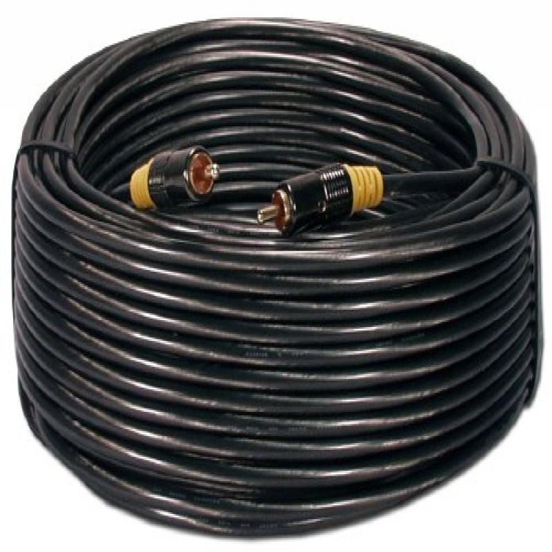 QVS RCA1V-50 50 ft. RCA Composite Video or Digital & SPDIF Audio Coax Cable