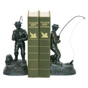 Elk Lighting Fish On Line Bookends