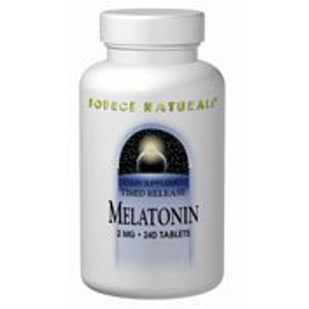 Sustained Release 30 Tablets (Melatonin 2mg Timed Release Source Naturals, Inc. 60 Sustained Release Tablet)