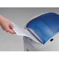 KOBRA +2 CC2 Professional Small Offices Cross Cut Shredder; Transparent opening lid with automatic suspension closing; up to 8 sheets of paper at a time or CD-Roms, DVDs and credit cards