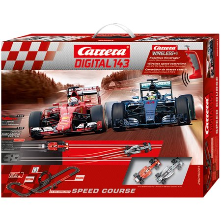 carrera speed course digital 1 43 scale slot car race set. Black Bedroom Furniture Sets. Home Design Ideas