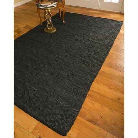 natural area rugs hand loomed black area rug. Black Bedroom Furniture Sets. Home Design Ideas