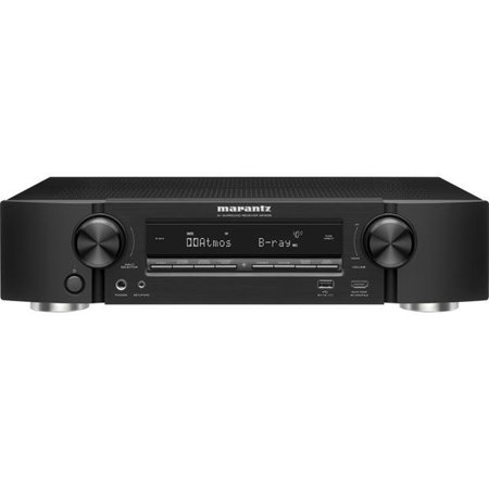 Marantz NR1608 7.2-ch Receiver with Wi-Fi, Dolby Atmos, DTS:X, and