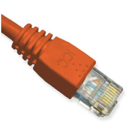 ICC CAT 5e Patch Cord, Booted - Category 5e for Gaming Console, Network Device - 10 ft - 1 x RJ-45 Male Network - 1 x RJ-45 Male Network - Gold-plated Contacts - Red