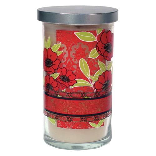Acadian Candle Lime and Mandarin Orange Designer Candle