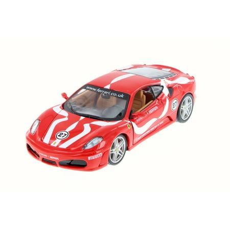 Ferrari F430 Fiorano, Red - Bburago 26009D - 1/24 Scale Diecast Model Toy Car (Brand New, but NOT IN BOX)
