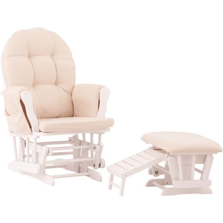 Status Roma Glider Rocking Chair Nursing Foot Stool