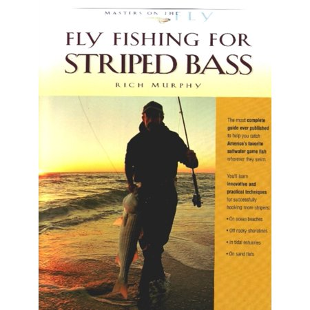 High Sierra Fly Fishing Book - Fly Fishing for Striped Bass