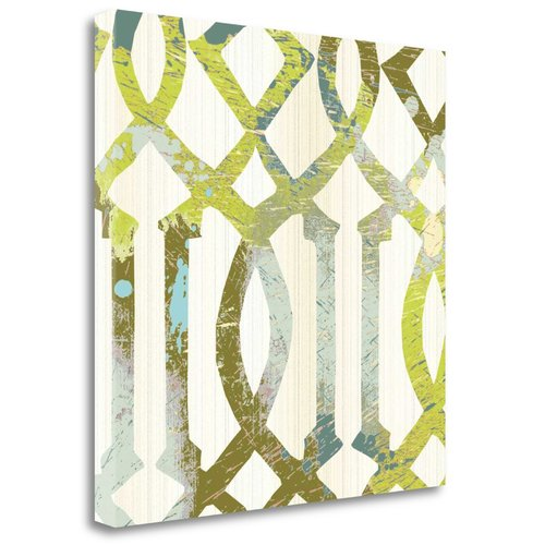 Tangletown Fine Art 'Ornamental I' by MAJA Graphic Art on Wrapped Canvas