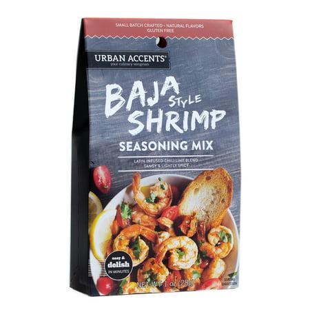 Urban Accents Baja Shrimp Main Dish Seasoning Mix 1 Oz