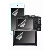 """onn. Universal Plastic Screen Protectors for Devices with up to 5.3"""" Screen, 3 Pack"""