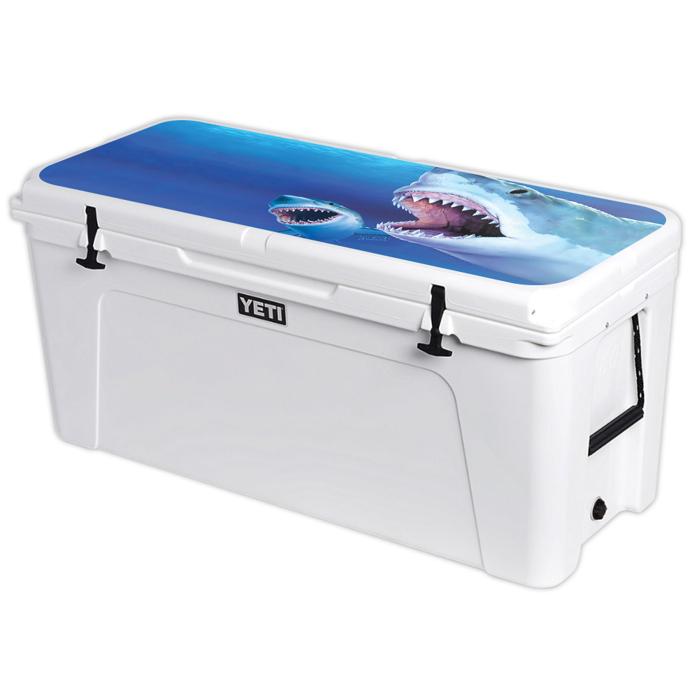 MightySkins Skin For YETI Tundra 110 qt Cooler Lid – Alpacalypse | Protective, Durable, and Unique Vinyl Decal wrap cover | Easy To Apply, Remove, and Change Styles | Made in the USA