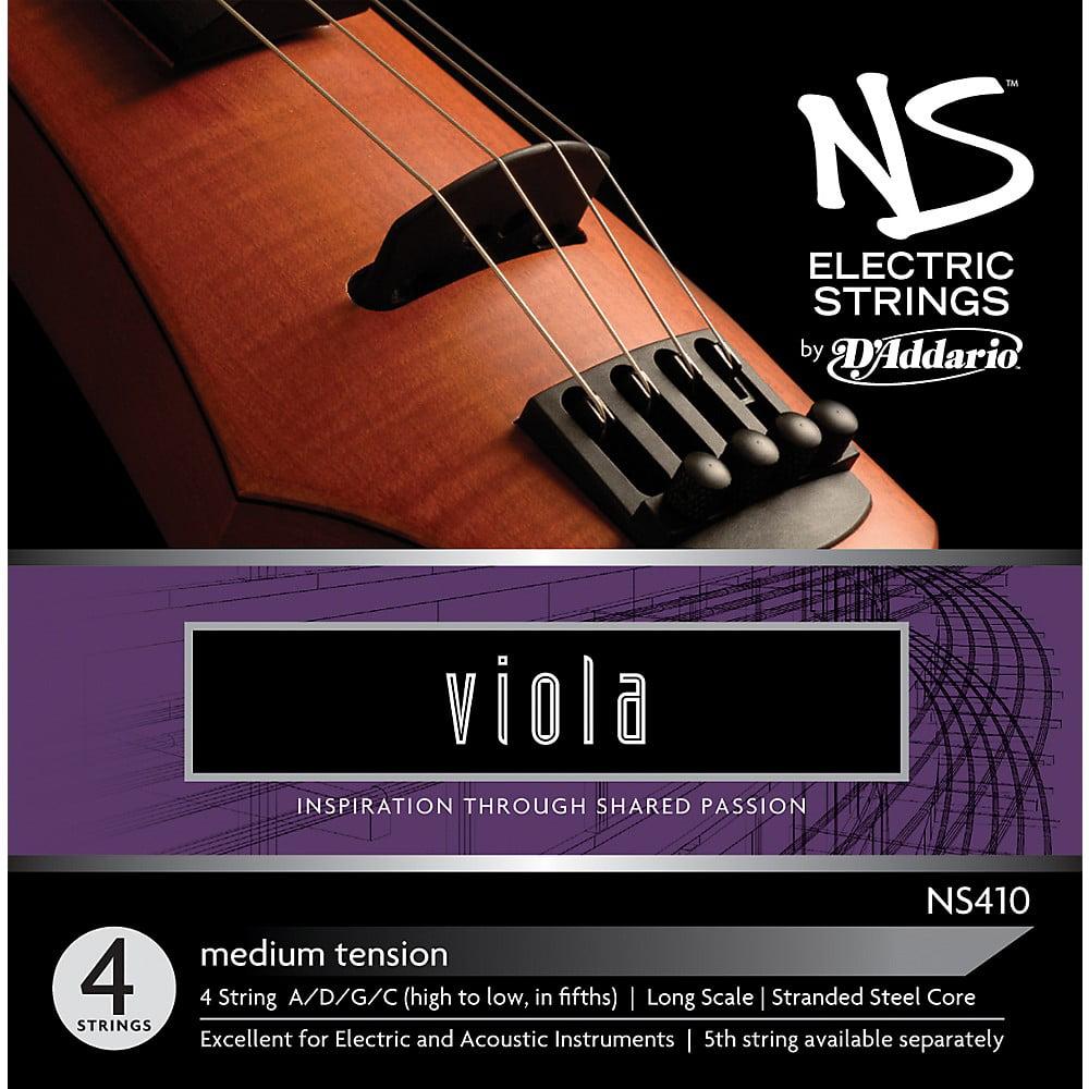 D'Addario NS410 NS Electric Viola Strings by D'Addario