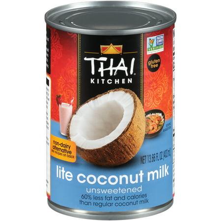 Thai Kitchen Organic Milk (Thai Kitchen Gluten Free Lite Coconut Milk, 13.66 fl oz)