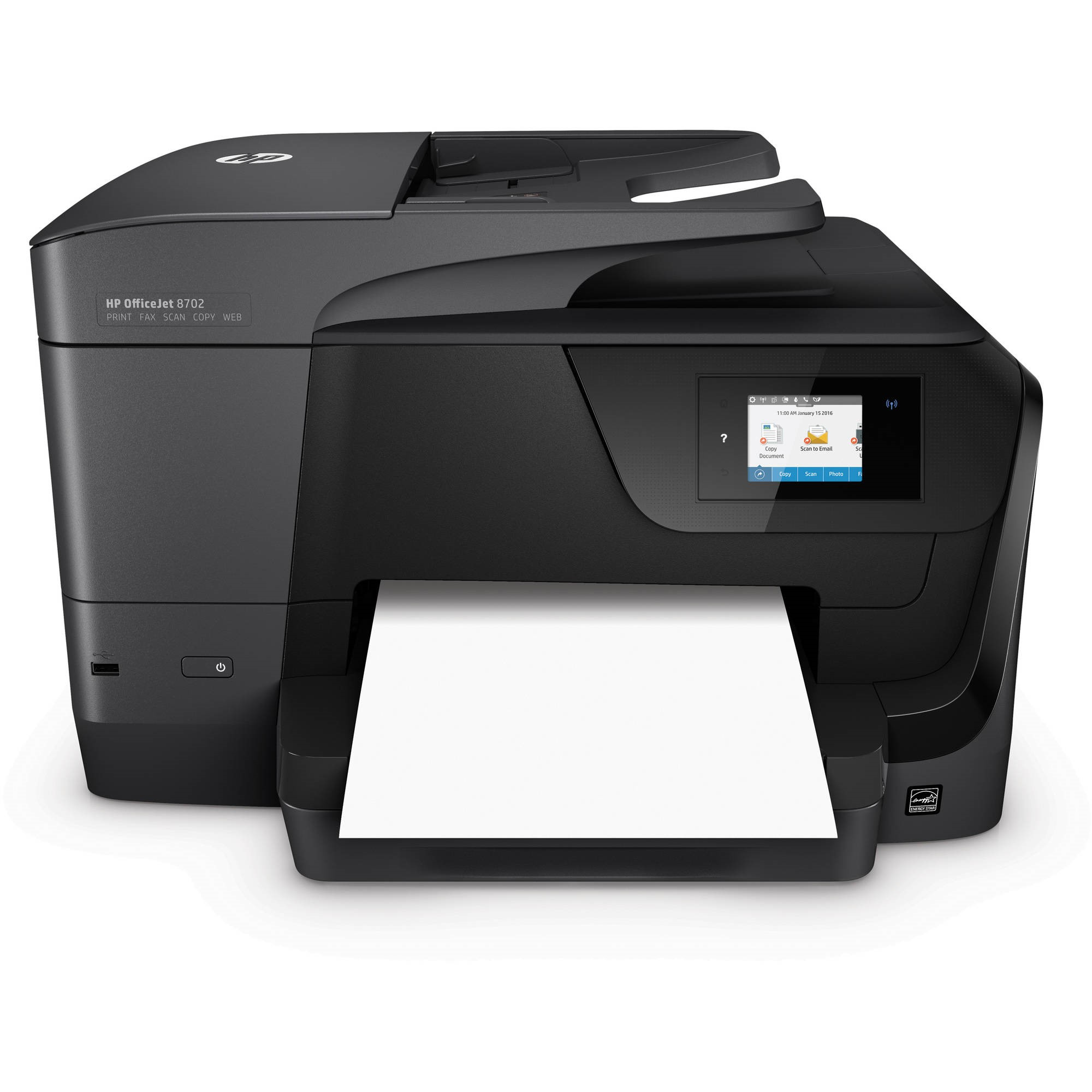 HP OfficeJet 8702 Wireless All-in-One Printer (M9L81A) - Walmart com