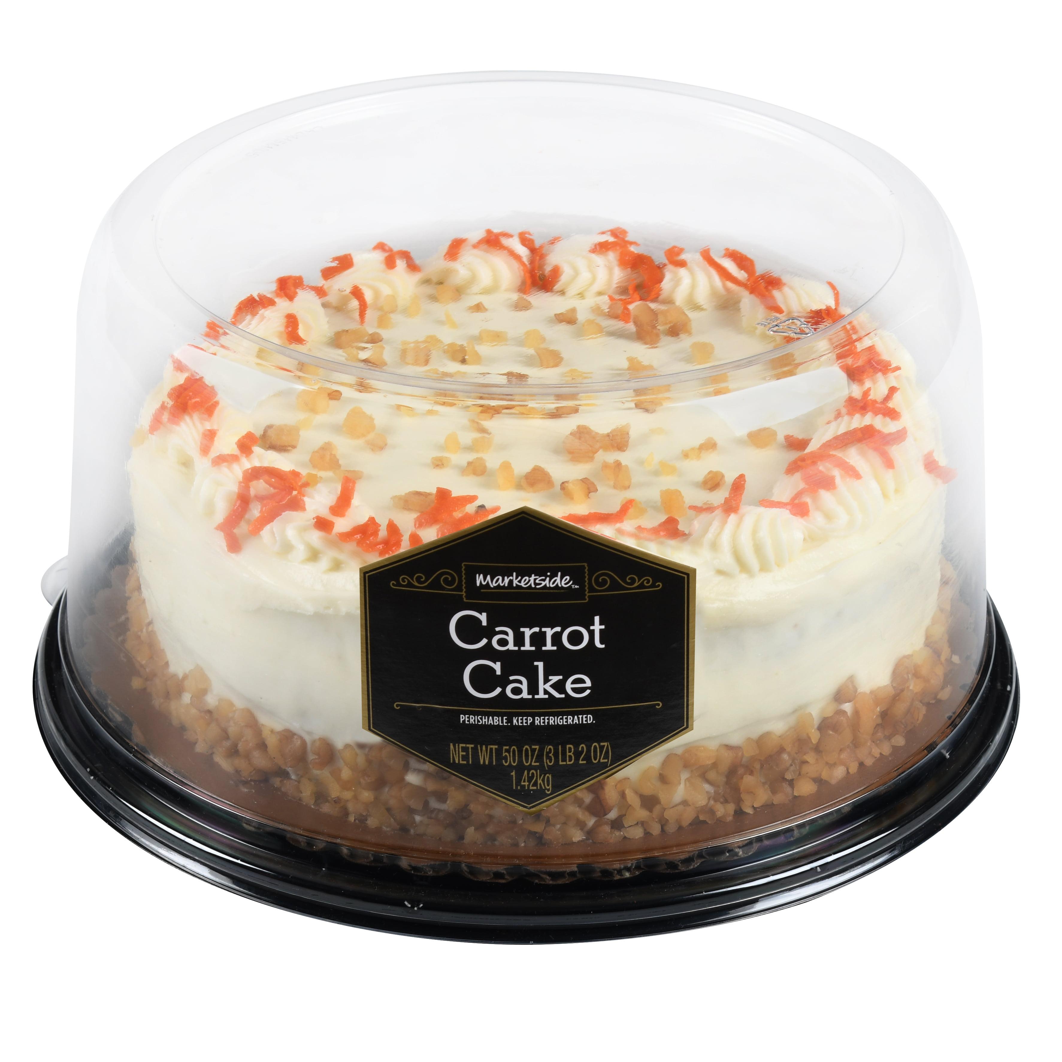 Marketside Carrot Cake 50 Oz Walmart