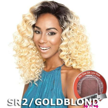 Brown Sugar Human Hair Blend Silk Lace Wig - BS605 (SM99J/BUG) (Bug Wig)