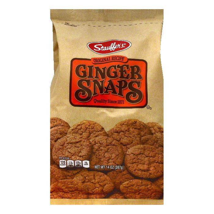 Stauffers Ginger Snaps, 14 OZ (Pack of 12)