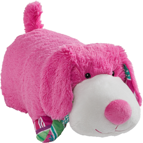 "Pillow Pets 18"" Colorful Puppy Plush Toy - Teal"