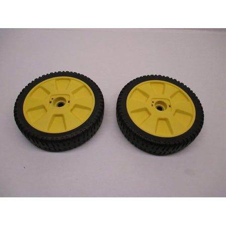 2 PK Oregon 72-115 Mower Wheels For John Deere AM115138 12SB 14SB 14SE JA65 JE75