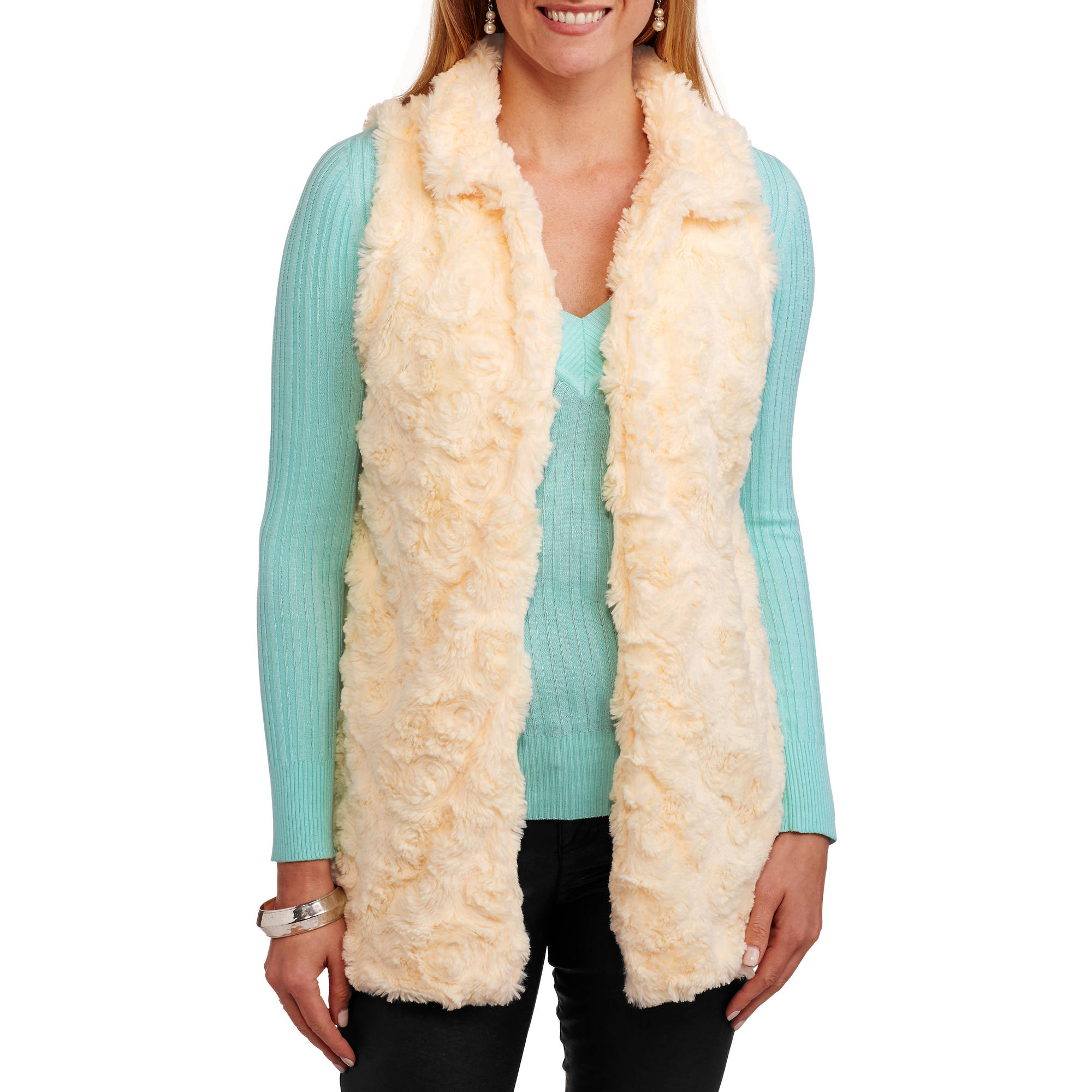 French Laundry Women's Fur Vest
